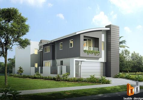 external residential 3d renders