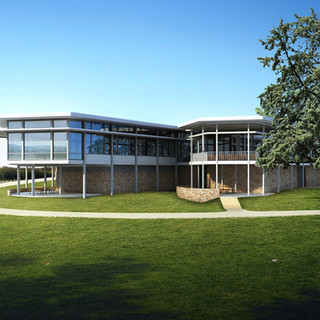 Regatta Point Canberra ACT Wedding Venue 3D Render and Photomontage