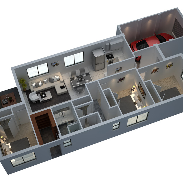 3D floor plan for Real Estate marketing - Perth WA