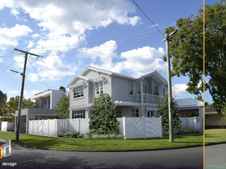 3D Photomontage Animated Overlay Res2 Burleigh Waters Gold Coast QLD