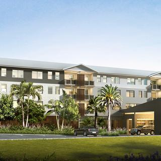 Seasons Aged Care Mango Hill, Brisbane QLD front external render