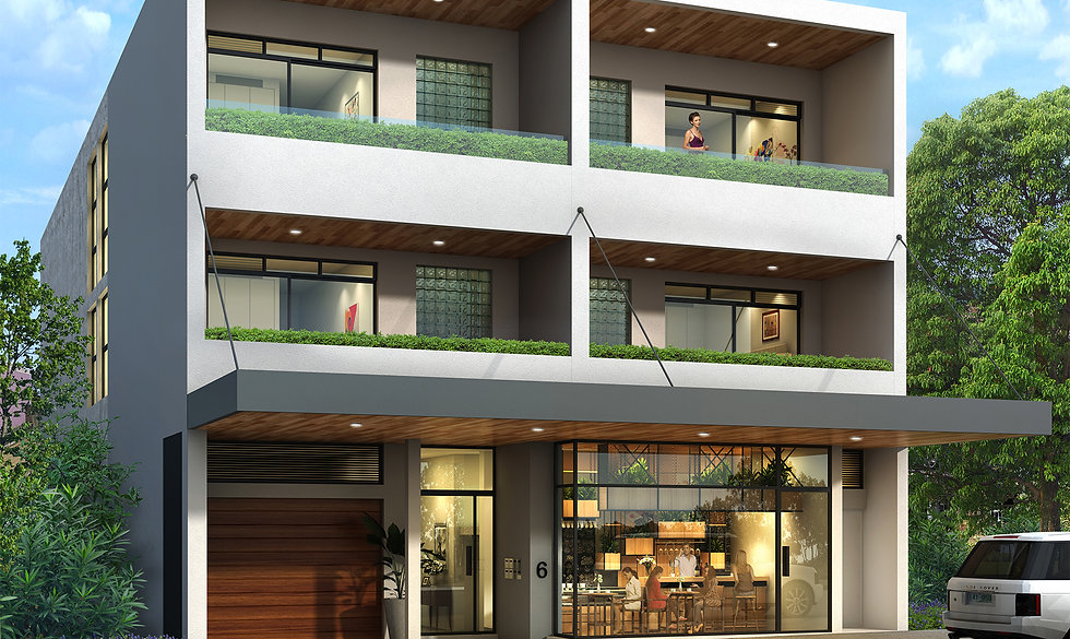 3D Rendering NSW development project for Raine & Horne. Image used for marketing purposes - 3D Rendering Sydney, Narrabeen NSW