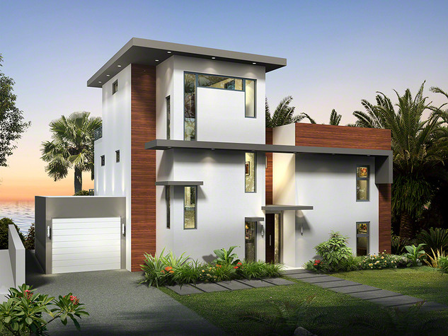 3D Artist Impression, 3D Architectural Rendering - Cayman Islands