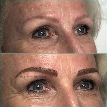Eyebrow Cosmetic Tattoo