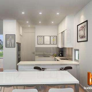 3D internal render - Kew Victoria by Budde Design