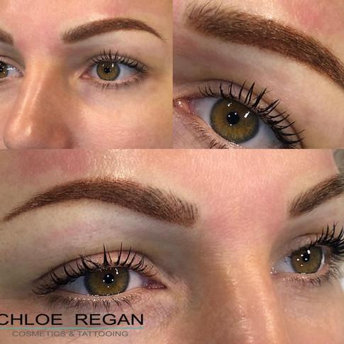 Combination Eyebrow Tattoo Eyebrow Cosmetic Tattoo