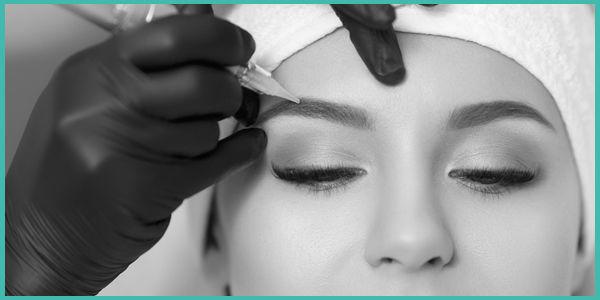 Eyebrow Tattoo treatment cosmetic tattooing sunshine coast