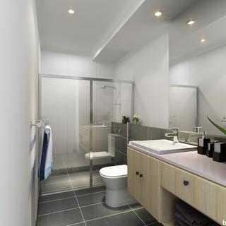 3D internal bathroom render for a development project - Carina Heights Brisbane QLD