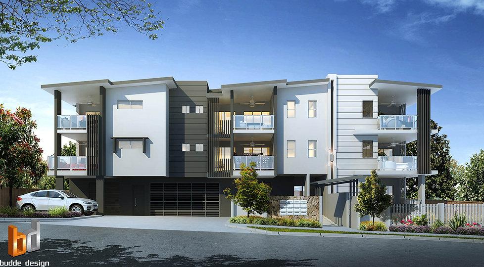 Artist Impression Alderly Brisbane Development project