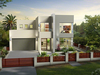3D Architectural Render for colour selection purposes - Greystanes NSW