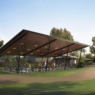 3D Artist Impression / 3D Rendering for the Darwin Gold club for their proposed renovation and addition to the club house