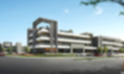 3D Rendering Gold Coast Commercial render of a propsed Oxenford Commercial Precinct - Oxenford QLD