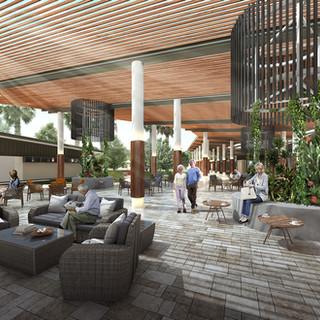 Lifestyle Community Village 3D Render Burnett Heads QLD