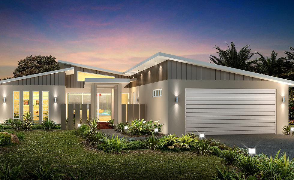 3D external Artist Impression Sunshine Coast for a building company - QLD