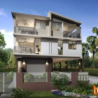 3D external render for a development project - Morningside, Brisbane QLD
