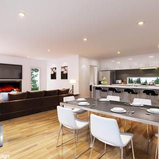 3D internal render - Ocean Grove by Budde Design