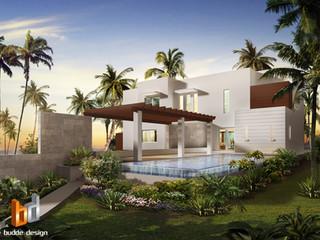 3D external Artist Impression - Cayman Islands