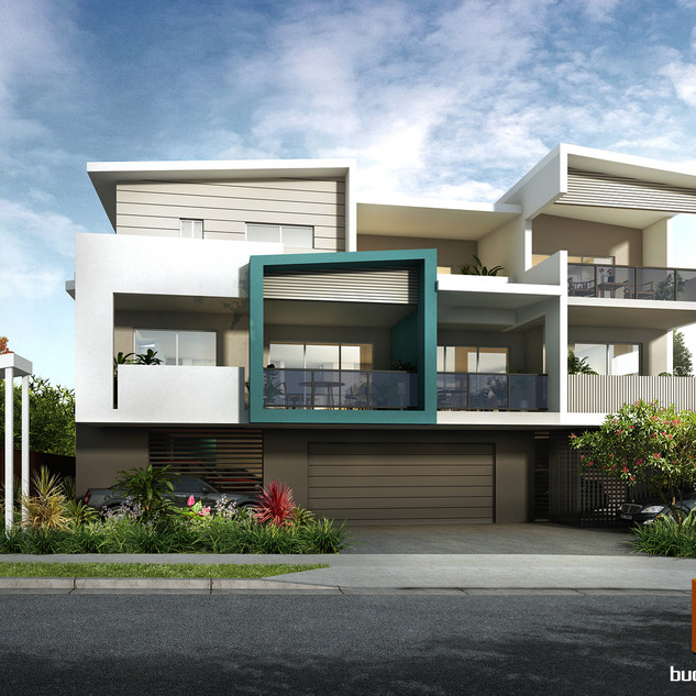 3D Development Render - Ashgrove QLD