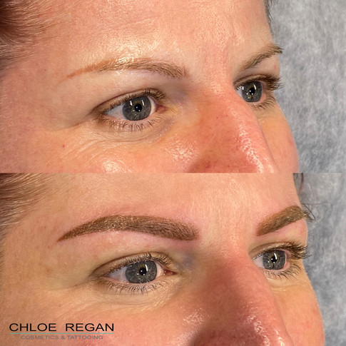 client225Cosmetic Eyebrow Tattooing before and after