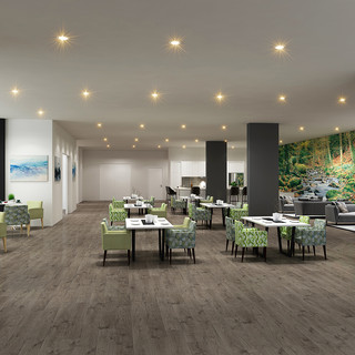 Seasons Aged Care Mango Hill, Brisbane QLD 3D render Respite ward