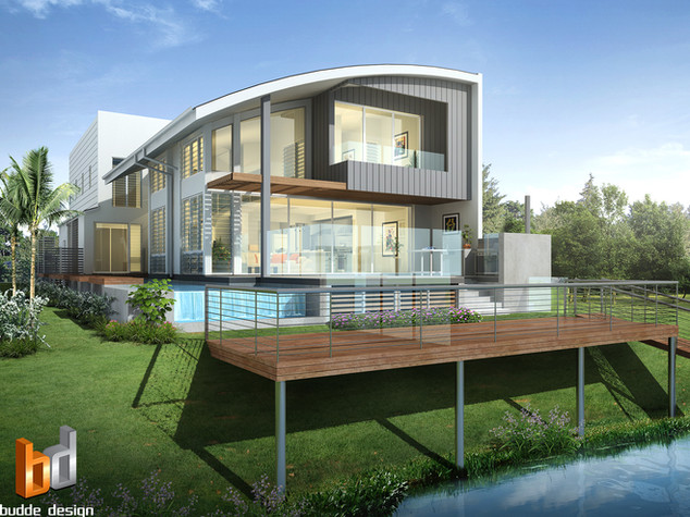 3D external render for design and colour selection purposes - Townsville QLD