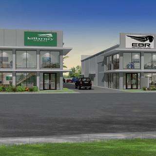 3D External Render for a Commercial Warehouse - Berrimah NT