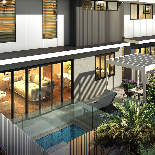 3D Rendering Development project - Sunrise Ave Coolum Beach QLD
