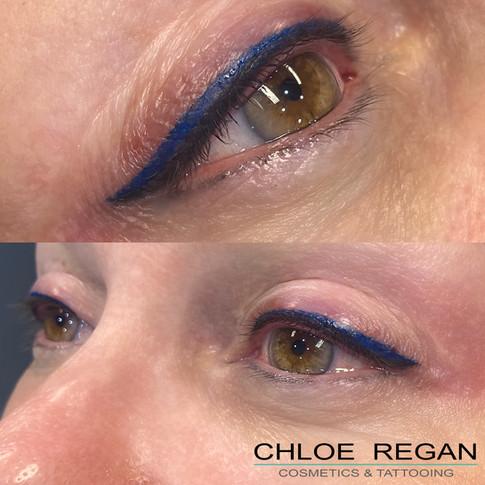 Coloured Eyeliner by Chloe Regan Cosmetics & Tattooing