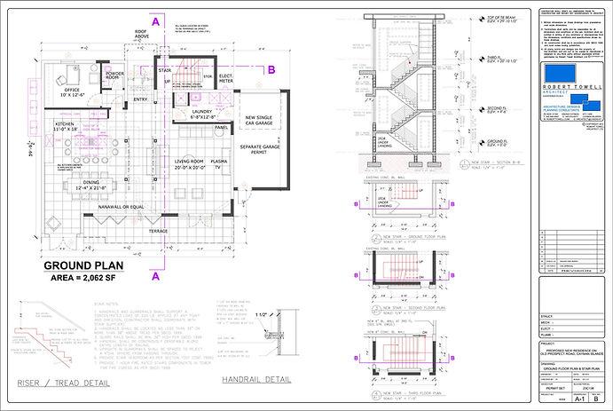 Archiectural floorplan for 3D external render