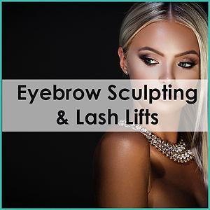 eyebrow sculpting & lash lifts sunshine
