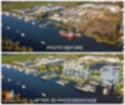 3D Photo Montage for The Boat Works Boat Marina, Coomera, gold coat qld by budde design
