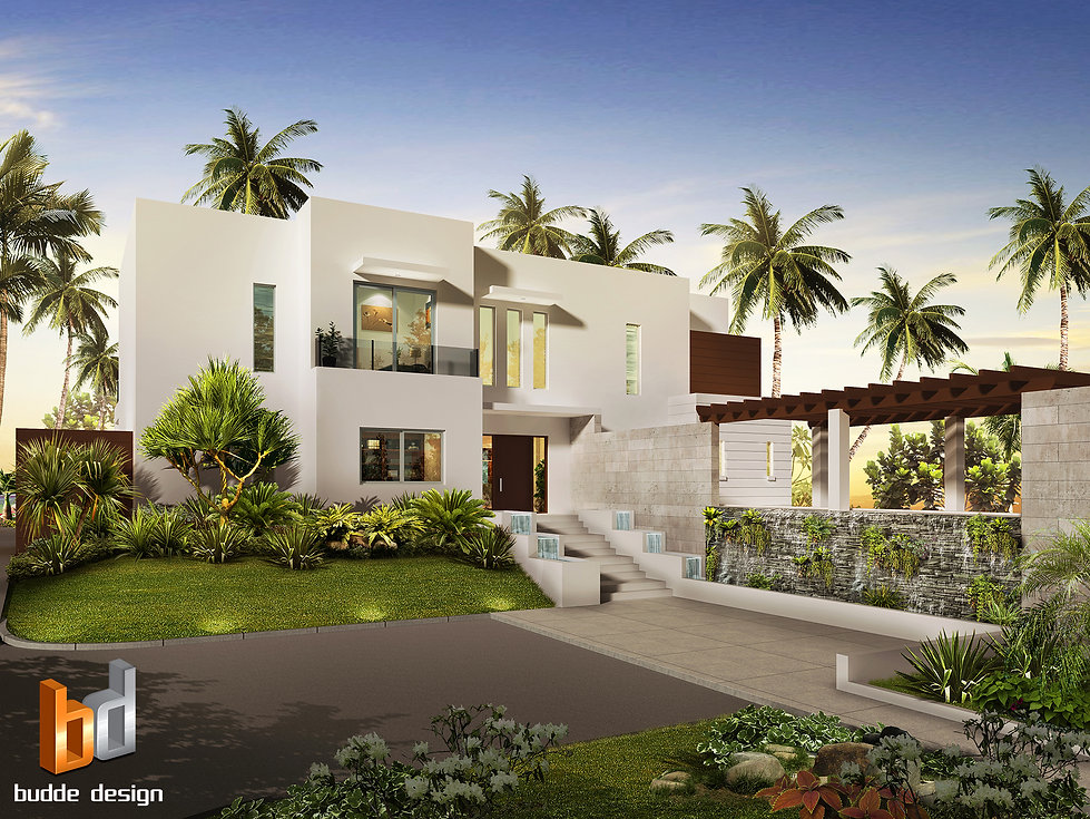 3D Rendering Grand Cayman Islands for another luxury home. Image used to present the design to the client and tweak any design changes required.