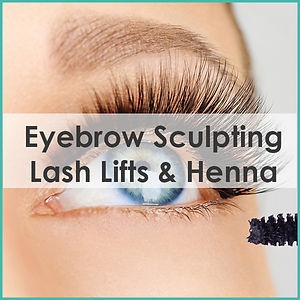 eyebrow sculpting lash lift brow henna coolum beach sunshine coast qld