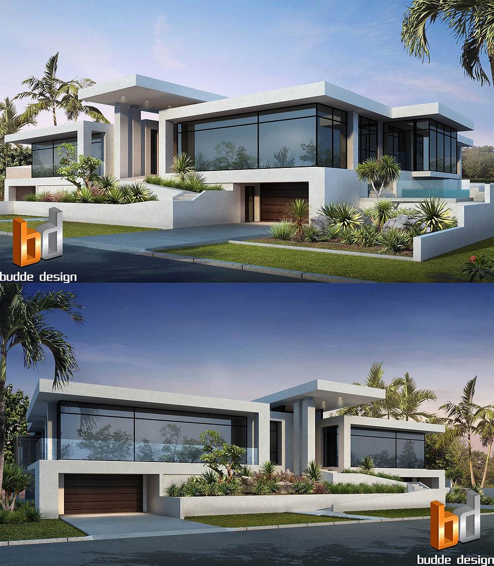 Artist Impresson front facade runaway bay gold coast qld australia