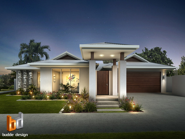 3D external render for a builders brochure - Palm Cove QLD