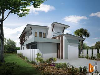 3D external render for James Hardie building products