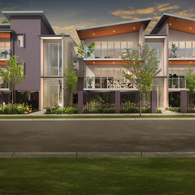 3D external Artist Impression for a development project - Indooroopilly, Brisbane, QLD