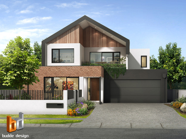 3D external render for colour selection and design purposes for a building company - Joondanna WA