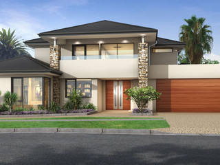 3D Rendering for a building company for design and colour selection purposes - Yokine WA