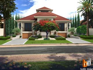 3D Photomontage for a custom design Riverleigh Drive Hope Island