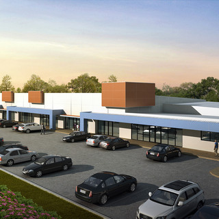 3D Rendering for a proposed commercial development - Darwin NT