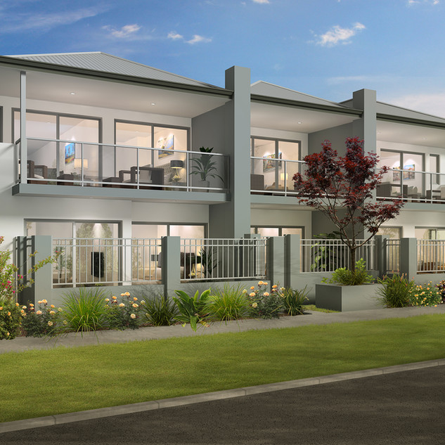 3D external Artist Impression for a development project - Coolbinia WA
