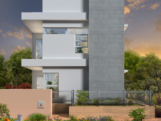 3D external Artist Impression - Perry Lakes WA