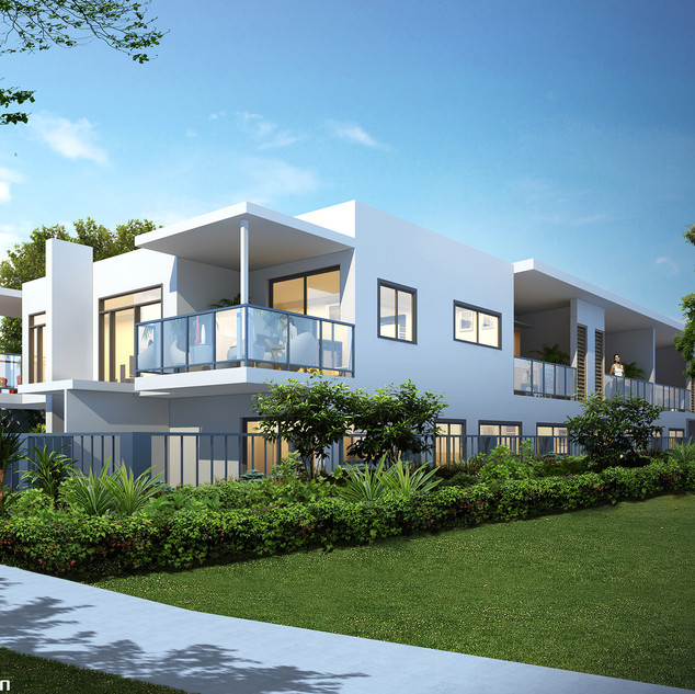 3D external Artist Impression for a development project - Bentley WA