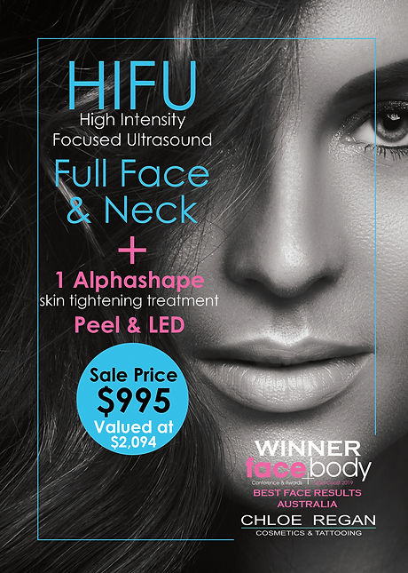 March Mega Skin A5 Brochure HIFU full fa