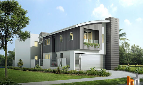 3D external render Townsville QLD Australia marketing image