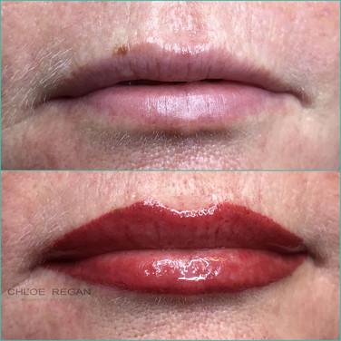 Full Lip Line & Blend