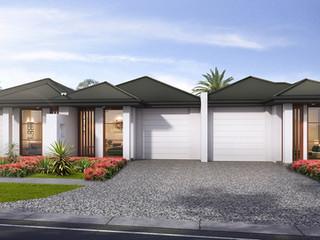 3D External Render 3 townhouse development - Oaklands Park SA