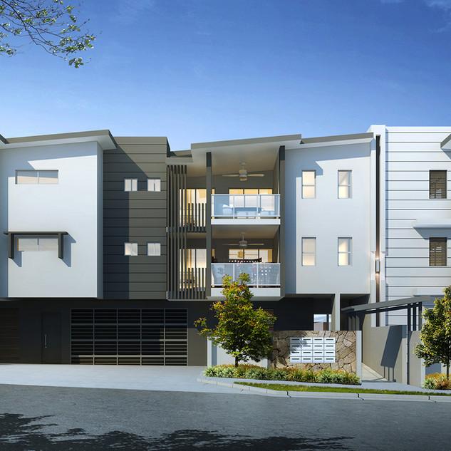 3D external Artist Impression for a development project - Alderly, Brisbane QLD