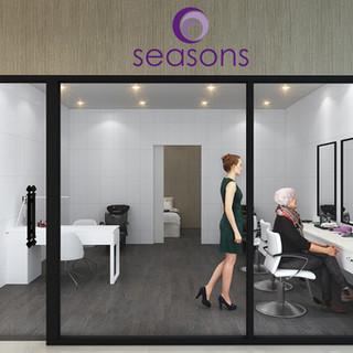 Seasons Aged Care Mango Hill, Brisbane QLD 3D render Hair Salon